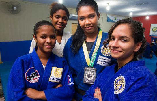 Il judo offre una via d'uscita dalle favelas
