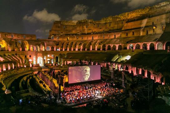 """Le star del film """"Il Gladiatore"""" di nuovo insieme per l'evento End Polio Now"""