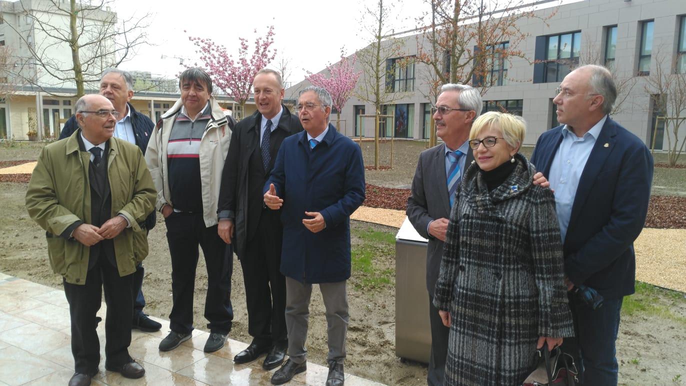 La Casa del Sollievo presenta il suo parco – Intitolata al Distretto Rotary 2072, ai sette club dell'area Estense e al Garden Club Estense