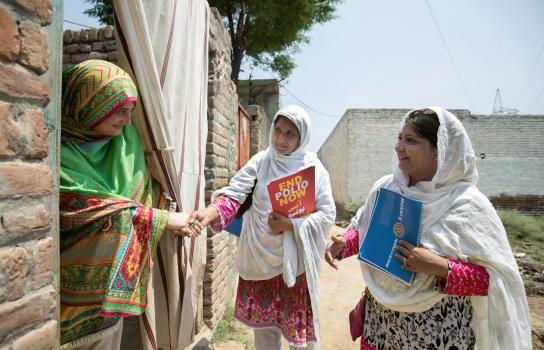 Per World Polio Day in evidenza i più grandi successi verso l'eradicazione globale della polio