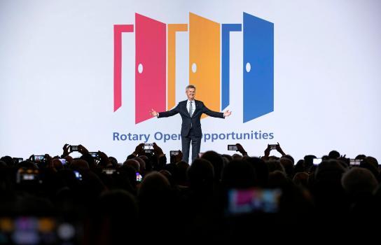 Secondo Holger Knaack il Rotary ha opportunità di cambiare e prosperare