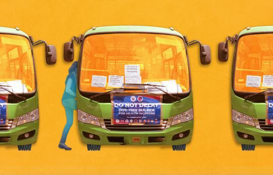 Club filippino organizza il trasporto per gli operatori sanitari in prima linea per il coronavirus