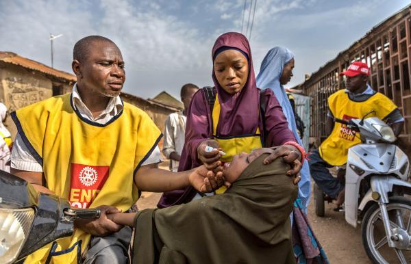 La regione africana dichiarata libera dal poliovirus selvaggio