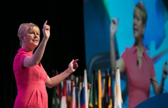 Jennifer E. Jones fa la storia, diventando la prima donna a essere selezionata come Presidente nominato del Rotary