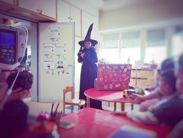 """Comunicato presentazione service """"Scuola di Magia in Corsia"""""""