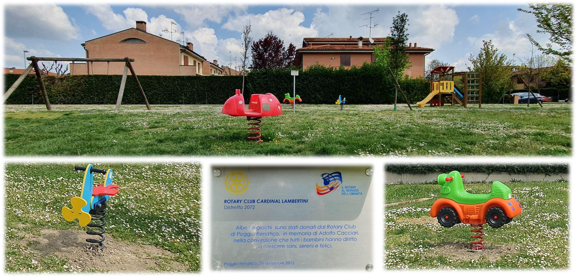 GIOCHI A MOLLA nel parco di via Nenni/Einaudi